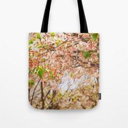 Cherry Blossom (sunny) Tote Bag