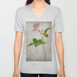 English Tea Rose  Unisex V-Neck