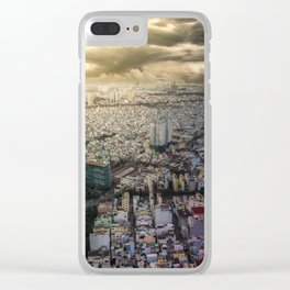 Ho Chi Minh city, Vietnam Clear iPhone Case