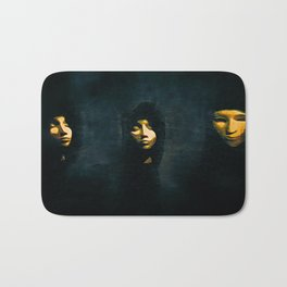 out of the darkness Bath Mat