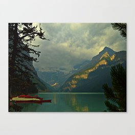 At A Loss For Words Canvas Print
