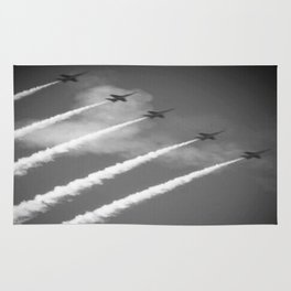 flight of angels Rug