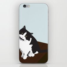 Mina the Cat iPhone & iPod Skin