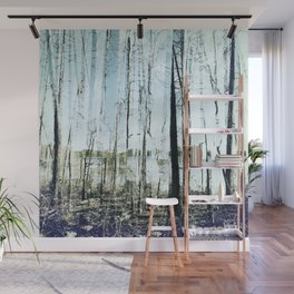 tree installation Wall Mural