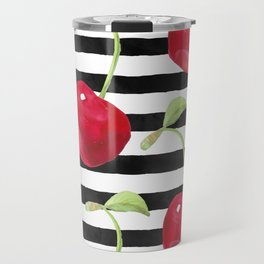 Cherry pattern Travel Mug