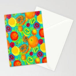 Pop Art Citrus Stationery Cards