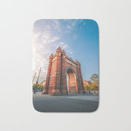 Arc de Triomf Barcelona Bath Mat