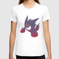 gengar T-shirts featuring Mega Gengar by Rebekhaart