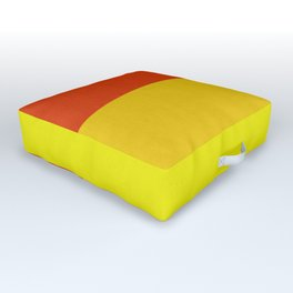 Geometric art XIV Outdoor Floor Cushion