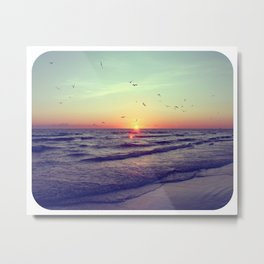 Siesta Key Sunset Metal Print