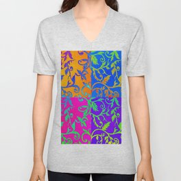 Dance of Colors Unisex V-Neck