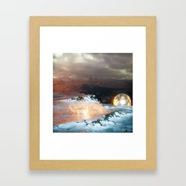 Secret Weapon Framed Art Print