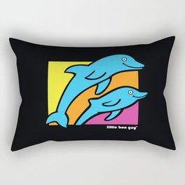 Dolphins. Rectangular Pillow