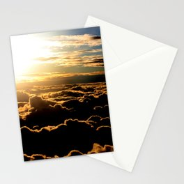 Sunset over the Atlantic Ocean Stationery Cards