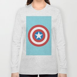 Captain of America Long Sleeve T-shirt