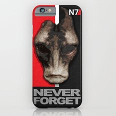 NEVER FORGET - Mordin Solus- Mass Effect iPhone 6s Slim Case