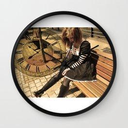 Clockwork lady Wall Clock