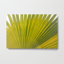 bright green flora Metal Print