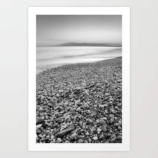 """""""Little stones at the silver sea"""" Art Print"""