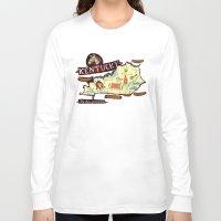 kentucky Long Sleeve T-shirts featuring Kentucky by Christiane Engel