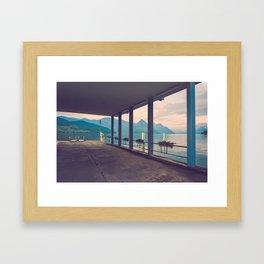 Schifflaendi Buochs Framed Art Print