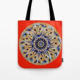 Colorful Mandala WD Tote Bag