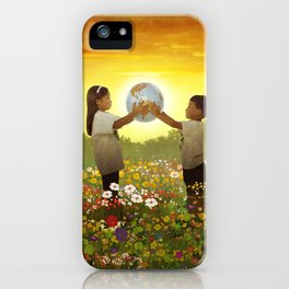 Share The World iPhone Case