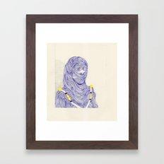 Hair Play 07 Framed Art Print