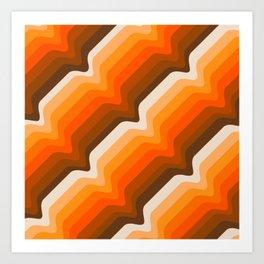 Golden Wave Art Print