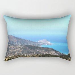Cefalu´ vista da Pollina (Sicily) Rectangular Pillow