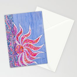 Hectic Sunset Stationery Cards