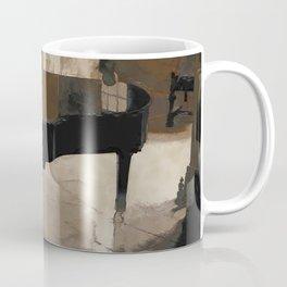 Grand Piano Artwork Coffee Mug