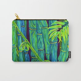 ʻOhe Polū - Blue Bamboo Carry-All Pouch