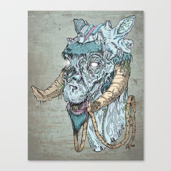 Taun  Taun Zombie Canvas Print