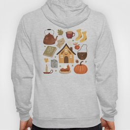 Autumn Cottage Days Hoody