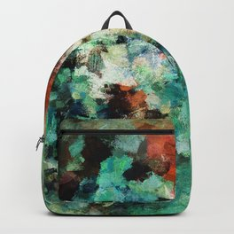 Colorful and Modern Abstract Art Backpack