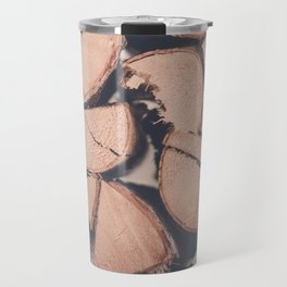 Wood Pile Travel Mug