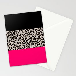 Leopard National Flag IV Stationery Cards