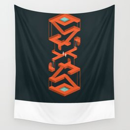 Monument Maze Wall Tapestry