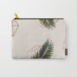 Palm + Geometry #society6 #decor #buyart Carry-All Pouch