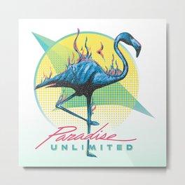 Paradise Unlimited Metal Print