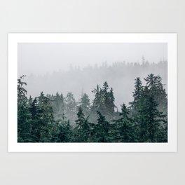 The Faded Fog Art Print