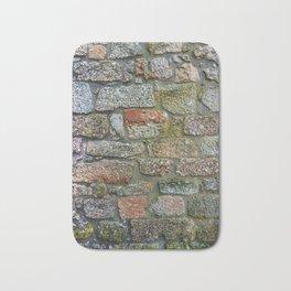 Old granite wall Bath Mat