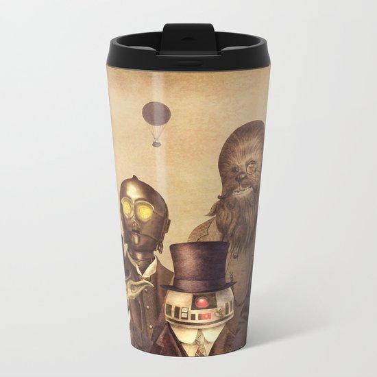 Victorian Wars (A2 format)  Metal Travel Mug