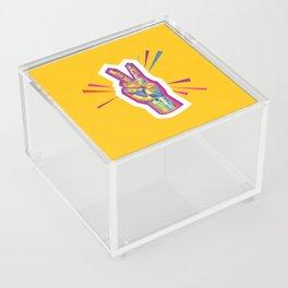 Peace as a Light of Hope Acrylic Box