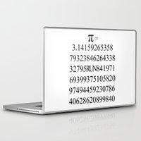 pi Laptop & iPad Skins featuring Pi by Anton Nikulin