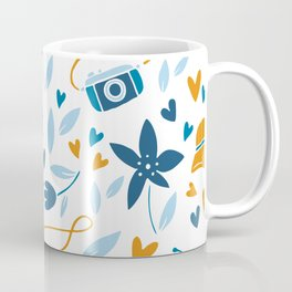 floral & photo Coffee Mug