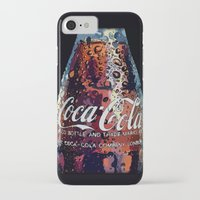coca cola iPhone & iPod Cases featuring The Real.... by LesImagesdeJon