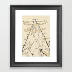 Ray Hope Mountain Framed Art Print