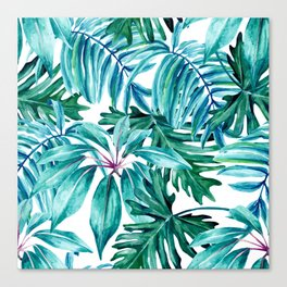 Tropical jungle II Canvas Print